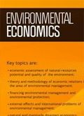 Environmental Economics (Business Perspectives Publishers)